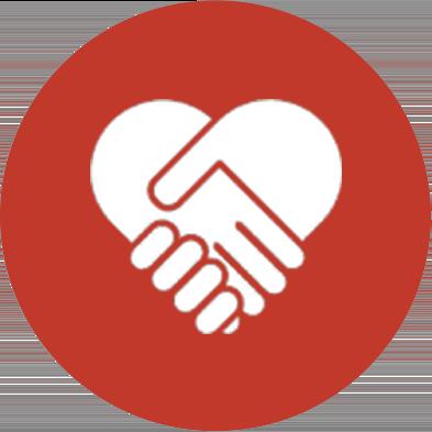 Circle icon heart